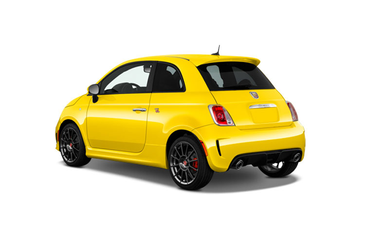 Abarth 595 Hatch 3Dr 1.4 T-Jet 165PS Pista 70th 3Dr Manual back view