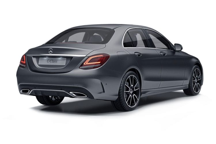 Mercedes-Benz C Class AMG C63 Saloon 4.0 V8 BiTurbo 510PS S Premium Plus 4Dr SpdS MCT [Start Stop] back view