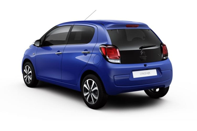 Citroen C1 Hatch 3Dr 1.0 VTi 72PS Sense 3Dr Manual [Start Stop] back view