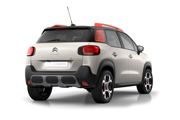 Citroen C3 Aircross SUV 1.5 BlueHDi 110PS Shine Plus 5Dr Manual back view