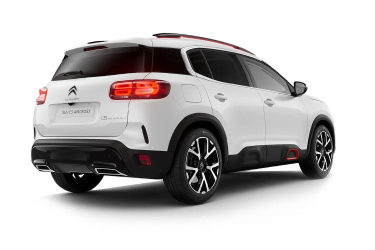 Citroen C5 Aircross SUV 1.5 BlueHDi 130PS Shine Plus 5Dr Manual [Start Stop] back view