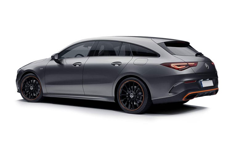 Mercedes-Benz CLA CLA250 Shooting Brake 2.0  224PS AMG Line Premium Plus 5Dr 7G-DCT [Start Stop] back view