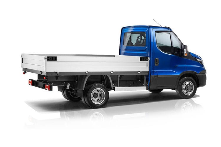 Iveco Daily 35C 3750 DRW 2.3 D HPI 16V DRW 156PS  Dropside Double Cab Manual [Start Stop] back view