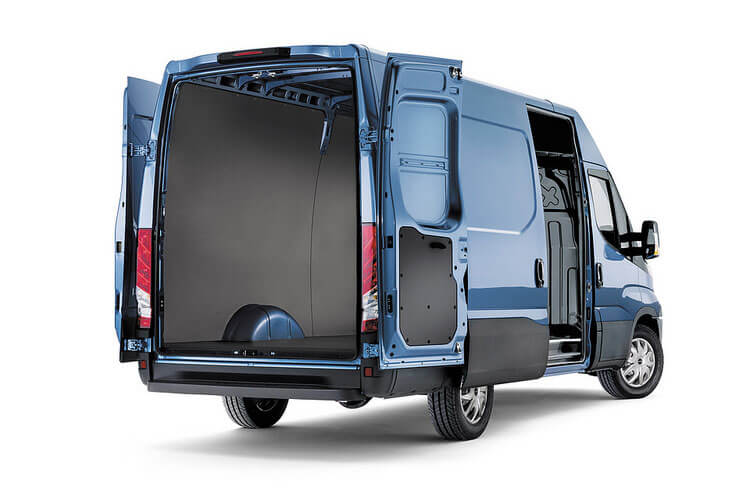Iveco Daily 35C 4100L DRW 2.3 D HPI 12V DRW 116PS  Van High Roof HiMatic [Start Stop] back view