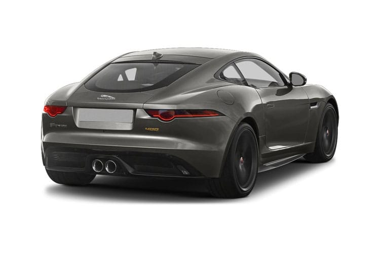 Jaguar F-TYPE Coupe AWD 5.0 V8 450PS R-Dynamic 2Dr Auto [Start Stop] back view