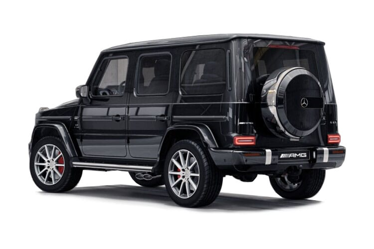 Mercedes-Benz G Class G400 SUV 3.0 d 330PS AMG Line Premium 5Dr G-Tronic [Start Stop] back view