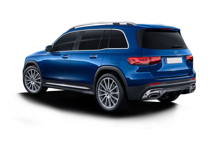 Mercedes-Benz GLB GLB200 SUV 4MATIC 2.0 d 150PS AMG Line Premium Plus 5Dr G-Tronic [Start Stop] back view