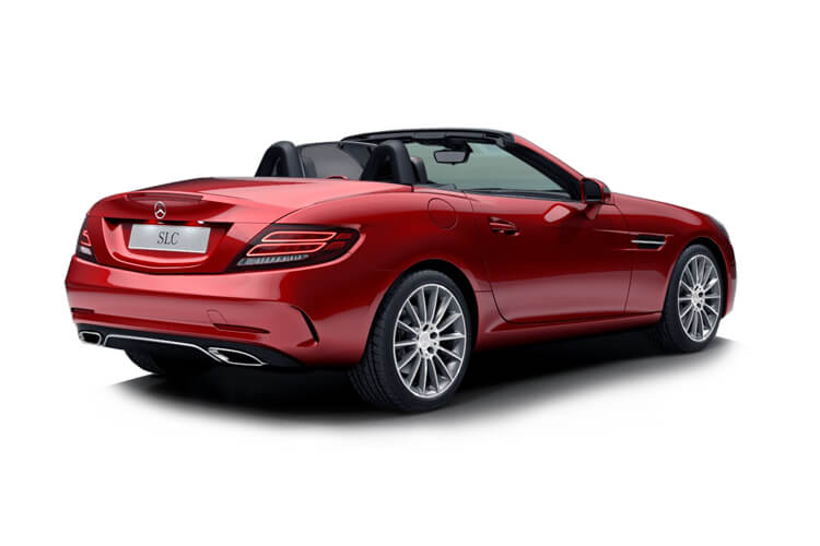 Mercedes-Benz SLC SLC300 Coupe Convertible 2.0  245PS Final Edition Premium 2Dr G-Tronic [Start Stop] back view