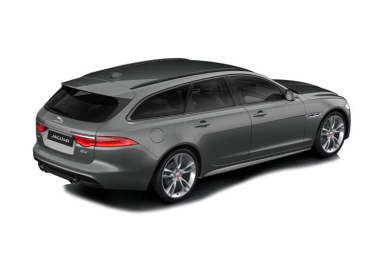 Jaguar XF Sportbrake 2.0 d 180PS Portfolio 5Dr Auto [Start Stop] back view