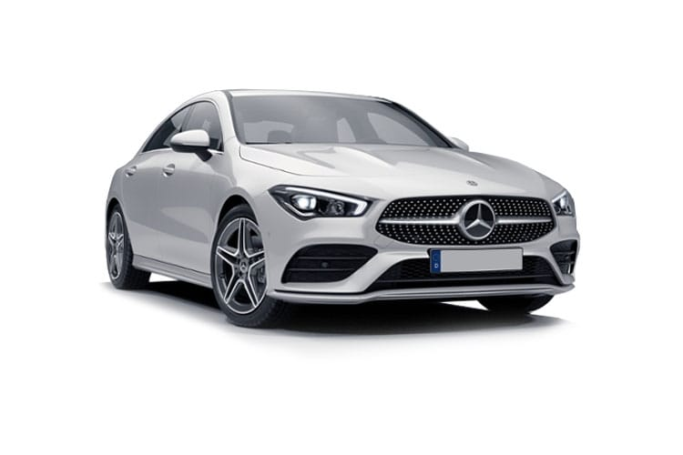 Mercedes-Benz CLA CLA220 Coupe 4Dr 2.0 d 190PS AMG Line 4Dr 8G-DCT [Start Stop] front view