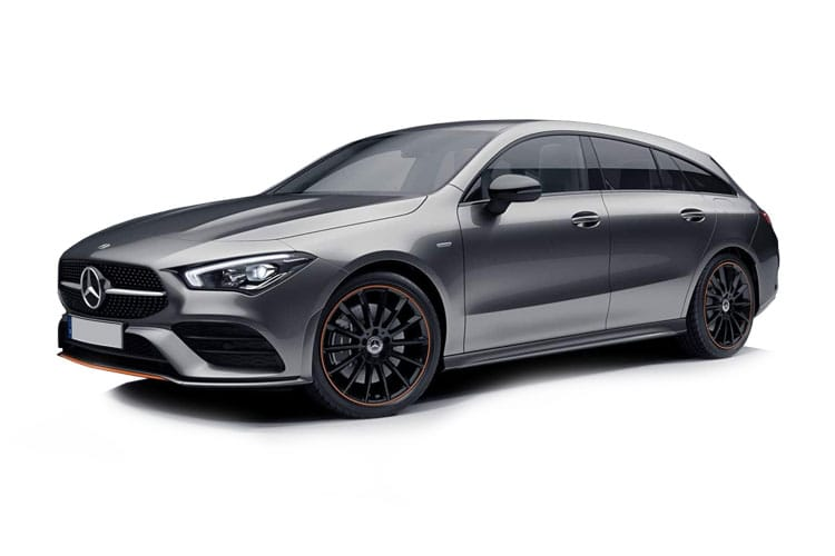 Mercedes-Benz CLA CLA250 Shooting Brake 2.0  224PS AMG Line Premium Plus 5Dr 7G-DCT [Start Stop] front view