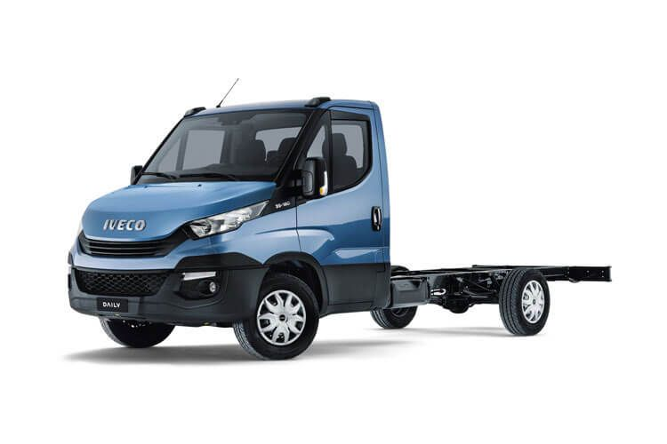 Iveco Daily HGV 45C 4350 DRW 3.0 D HPI 18V DRW 180PS Business Chassis Cab HiMatic front view