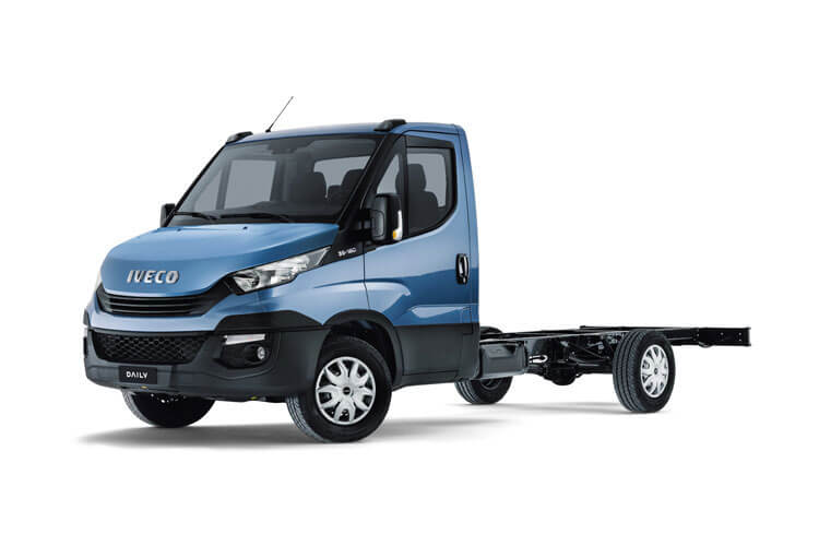 Iveco Daily 35C 3750 DRW 2.3 D HPI 14V DRW 136PS  Chassis Cab HiMatic [Start Stop] front view