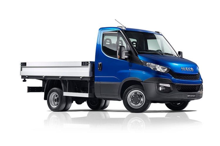 Iveco Daily 35C 3750 DRW 2.3 D HPI 16V DRW 156PS  Dropside Double Cab Manual [Start Stop] front view