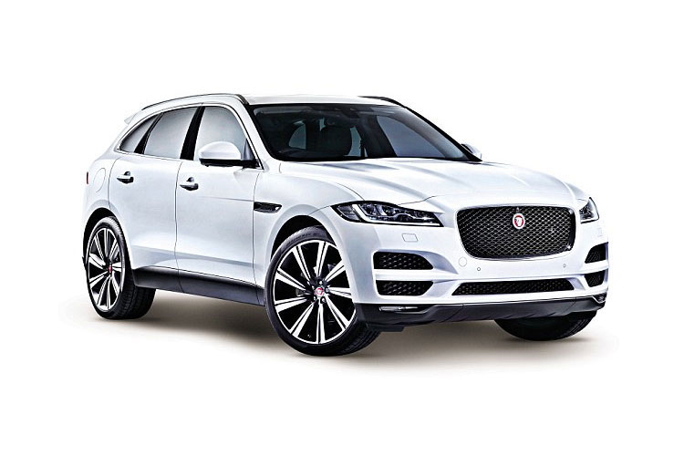 Jaguar F-PACE SUV AWD 3.0 V6 MHEV 400PS R-Dynamic S 5Dr Auto [Start Stop] front view