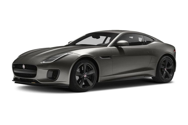 Jaguar F-TYPE Coupe AWD 5.0 V8 450PS R-Dynamic 2Dr Auto [Start Stop] front view
