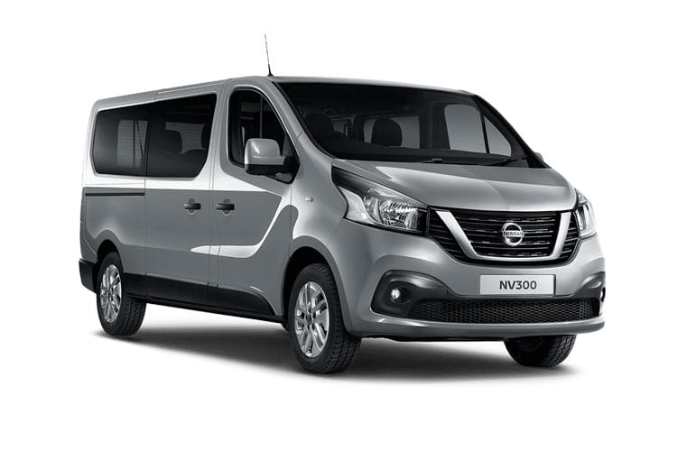 Nissan NV300 L1 30 M1 2.0 dCi FWD 145PS Tekna Combi Manual [Start Stop] front view