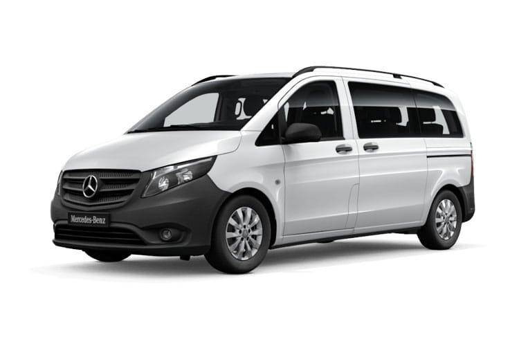 Mercedes-Benz Vito Tourer 114 L2 M1 RWD 2.0 CDi RWD 136PS SELECT Minibus G-Tronic [Start Stop] [9Seat] front view