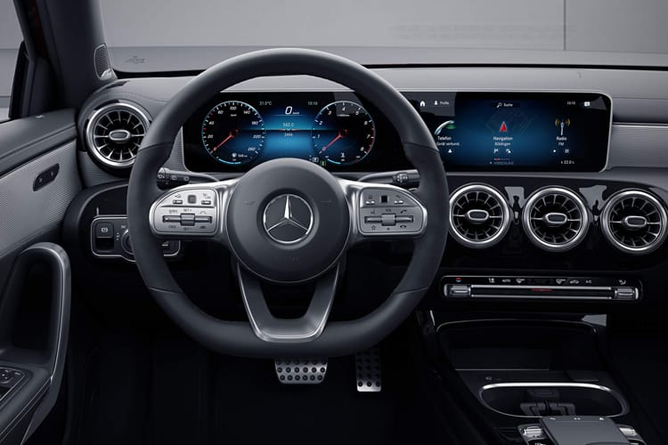 Mercedes-Benz A Class A180 Saloon 4Dr 1.3  136PS Sport 4Dr Manual [Start Stop] inside view