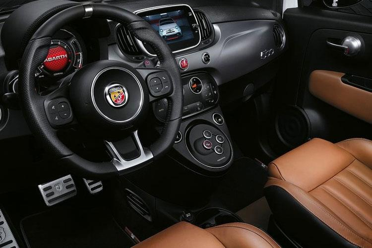 Abarth 595 Hatch 3Dr 1.4 T-Jet 165PS Pista 70th 3Dr Manual inside view