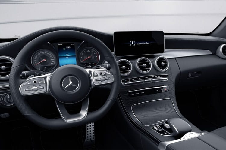 Mercedes-Benz C Class AMG C63 Cabriolet 4.0 V8 BiTurbo 510PS S 2Dr SpdS MCT [Start Stop] inside view