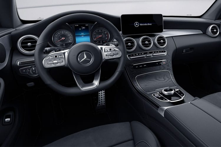 Mercedes-Benz C Class C300 Coupe 2.0 MHEV 272PS AMG Line Night Edition 2Dr G-Tronic+ [Start Stop] [Premium Plus] inside view