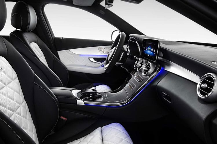 Mercedes-Benz C Class AMG C63 Saloon 4.0 V8 BiTurbo 510PS S Premium Plus 4Dr SpdS MCT [Start Stop] inside view
