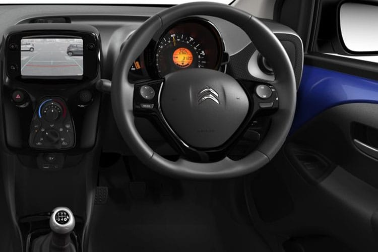 Citroen C1 Hatch 3Dr 1.0 VTi 72PS Sense 3Dr Manual [Start Stop] inside view
