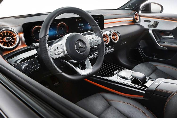 Mercedes-Benz CLA CLA220 Coupe 4Dr 2.0 d 190PS AMG Line 4Dr 8G-DCT [Start Stop] inside view