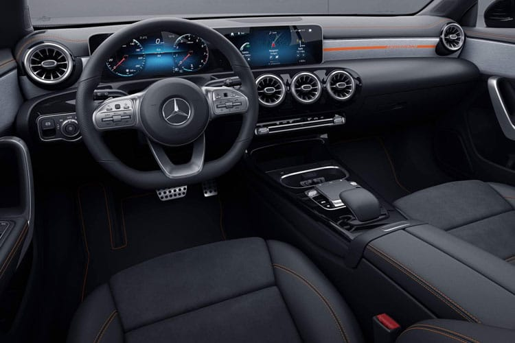Mercedes-Benz CLA CLA250 Shooting Brake 2.0  224PS AMG Line Premium Plus 5Dr 7G-DCT [Start Stop] inside view