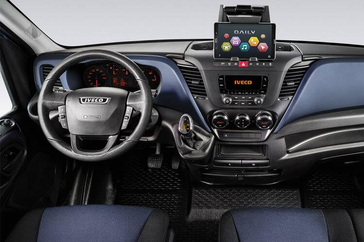 Iveco Daily HGV 45C 4350 DRW 3.0 D HPI 18V DRW 180PS Business Chassis Cab HiMatic inside view