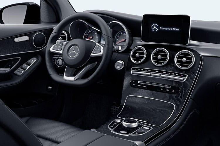 Mercedes-Benz GLC GLC300e Coupe 4MATIC 2.0 PiH 13.5kWh 333PS AMG Line Premium 5Dr G-Tronic+ [Start Stop] inside view