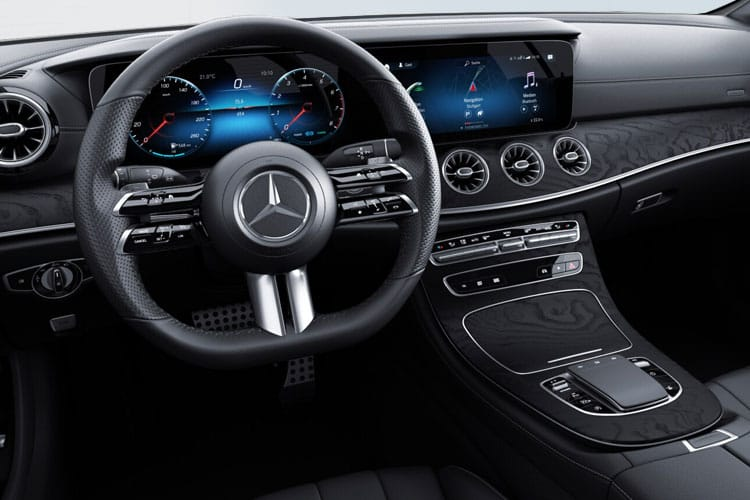 Mercedes-Benz E Class E300 Coupe 2.0  245PS AMG Line 2Dr G-Tronic+ [Start Stop] [Premium] inside view