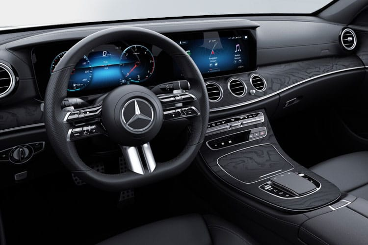 Mercedes-Benz E Class E220 Estate 2.0 d 194PS AMG Line 5Dr G-Tronic+ [Start Stop] inside view