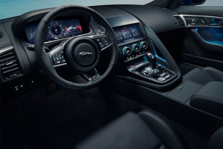 Jaguar F-TYPE Coupe AWD 5.0 V8 450PS R-Dynamic 2Dr Auto [Start Stop] inside view