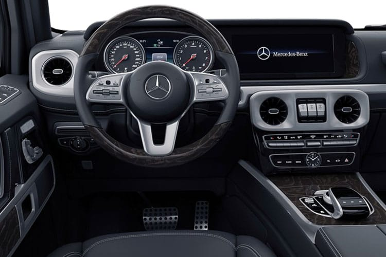 Mercedes-Benz G Class G400 SUV 3.0 d 330PS AMG Line Premium 5Dr G-Tronic [Start Stop] inside view