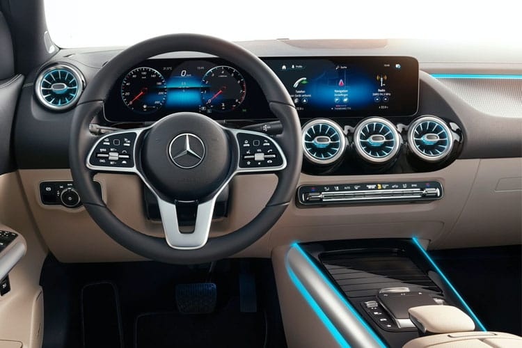 Mercedes-Benz GLA GLA180 SUV 1.3  136PS AMG Line Premium 5Dr 7G-DCT [Start Stop] inside view