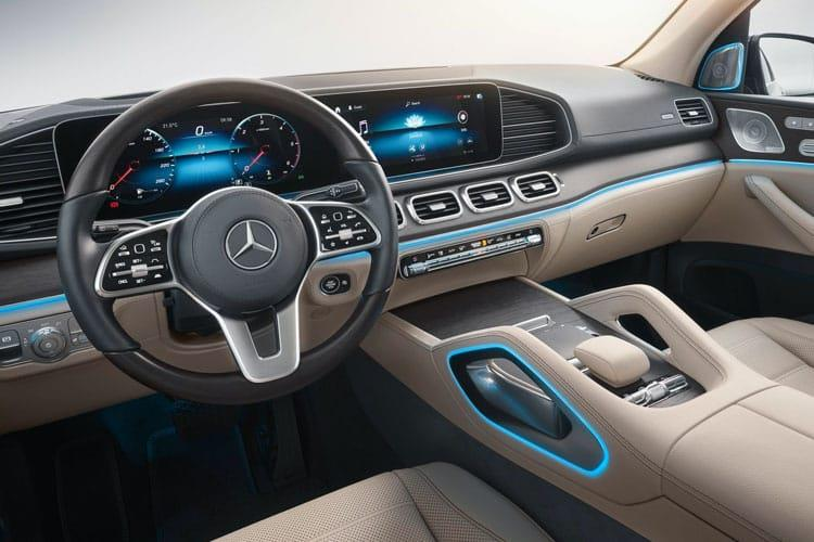 Mercedes-Benz GLS GLS400 SUV 4MATIC 3.0 d 330PS AMG Line Premium Plus 5Dr G-Tronic [Start Stop] inside view