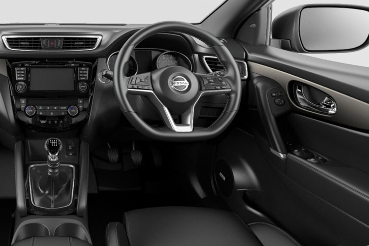 Nissan Qashqai SUV 4wd 1.7 dCi 150PS N-Connecta 5Dr Manual [Start Stop] inside view