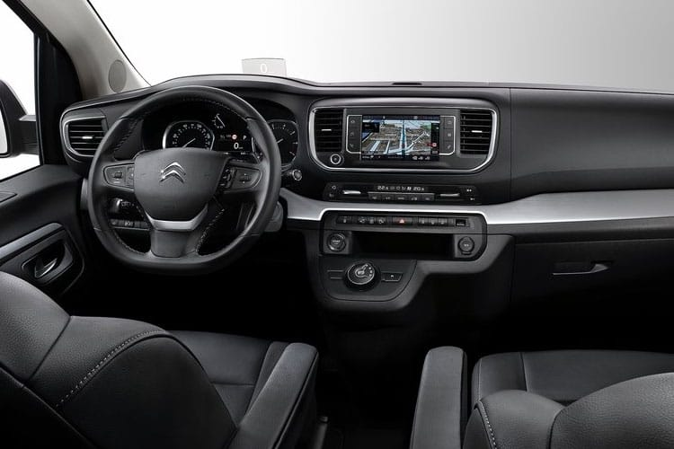 Citroen SpaceTourer e-SpaceTourer M 5Dr Elec 50kWh 100KW FWD 136PS Feel MPV Auto [8Seat 11kW Charger] inside view